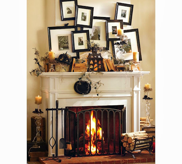 Halloween Mantel Decorating Ideas 6 Mantel Decorating Ideas