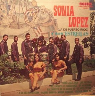 Sonia Lopez Y Sus Estrellas  De Puerto Rico  Front