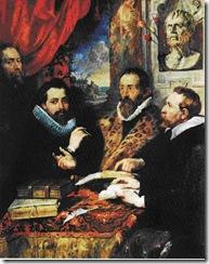 "Rubens - Juste Lipse e seus alunos"" ou ""Os quatro filósofos"