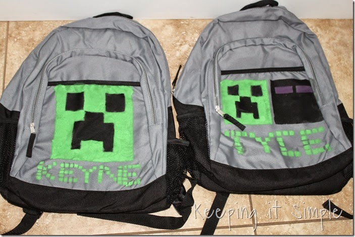 DIY Minecraft BackPack (8)