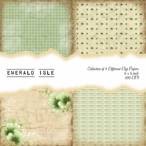 Emerald Isle Front Sheet