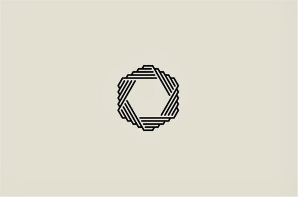 22 ejemplos de hermosos logotipos con estilo ultra minimalista 22