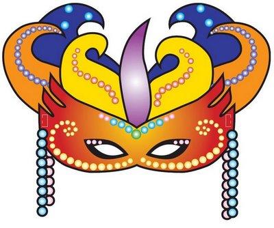 Resultado de imagen para Imágenes de máscaras para Carnaval para imprimir