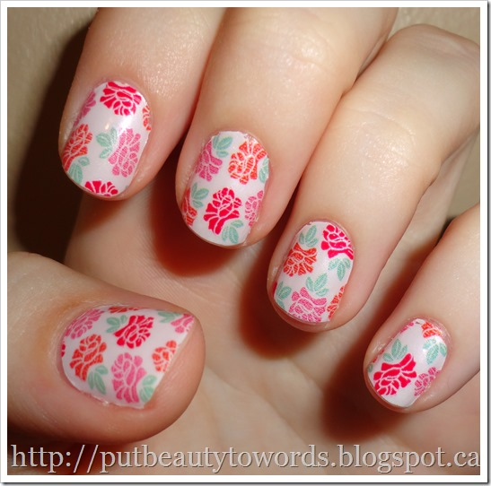 Writing Beauty: Incoco Nail Polish Strips in Very Rosy (Review)