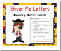 shiver me letter cards