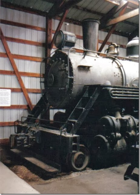 Louisiana & Arkansas 2-8-0 #99 at the Illinois Railway Museum on May 23, 2004