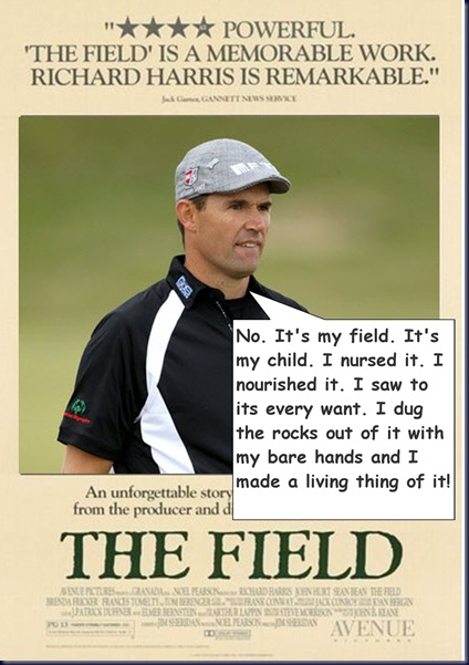 Technorati Tags Padraig Harrington Funny Pic British Open
