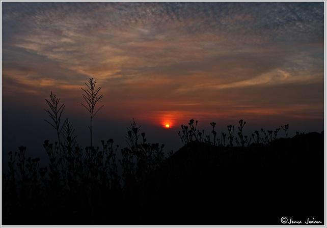 Sunset kodachadri