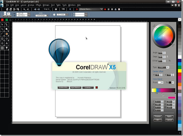 coreldraw graphics suite x5 serial number and activation code download