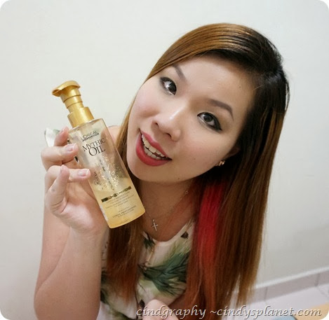 Loreal Mythic Oil Souffle dor sparkling conditioner
