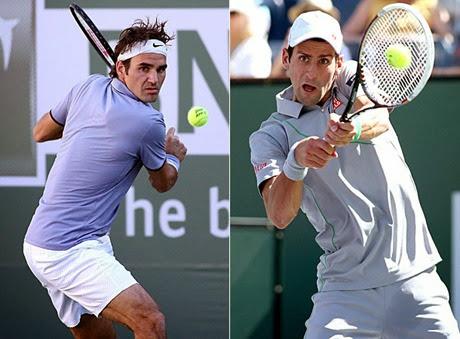 Federer y Djokovic se podrían ver las caras en Montecarlo antes de la final