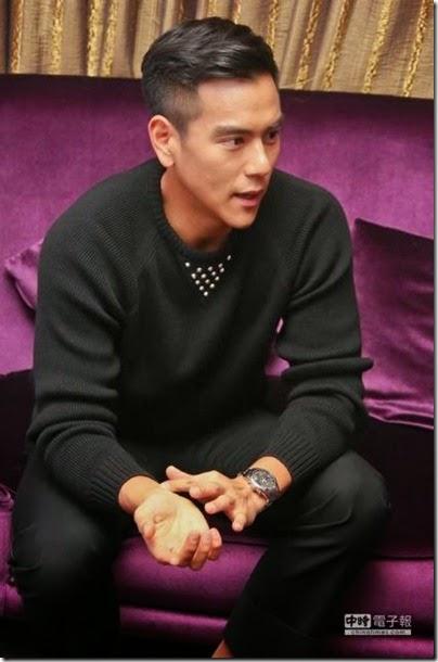 2014.11.10 Eddie Peng during Rise of the Legend - 彭于晏 黃飛鴻之英雄有夢 臺北 - 發布會 02