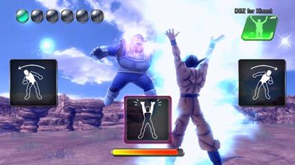 Dragonball Z Kinect energia sferica