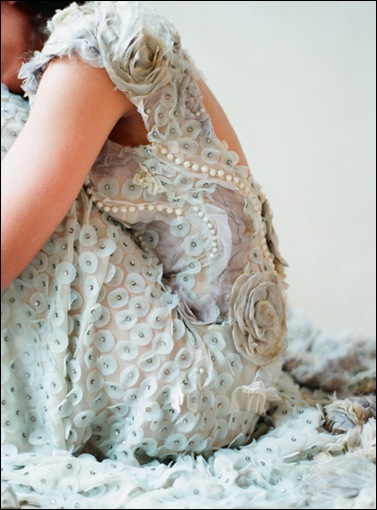 crushculdesacMoonshadow by Claire Pettibone (photographed by Elizabeth Messina) via Once Wed Blog