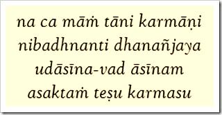 Bhagavad-gita, 9.9