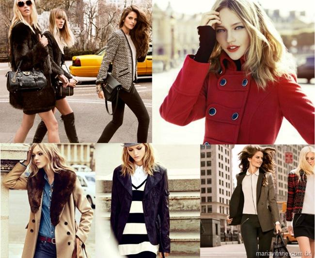 casacos para inverno roupas frio moda feminina