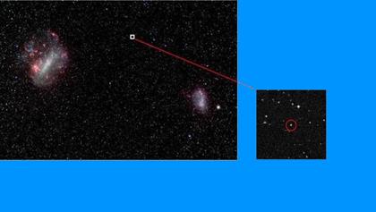 localização da estrela mais antiga