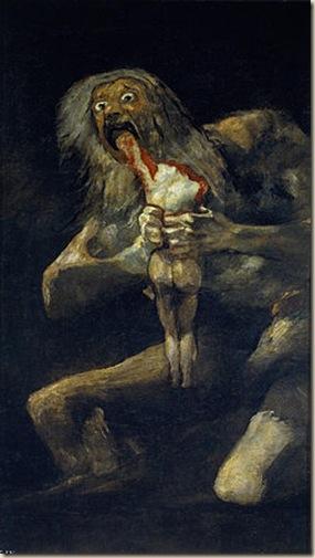 Saturno devorando a su hijo Ateismo Dios