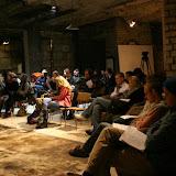 Публика в ожидании поэтических боев.