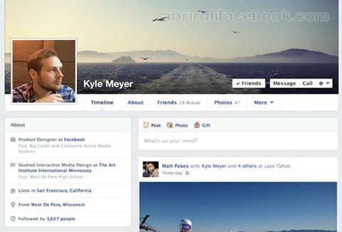 Editar la información de mi perfil de Facebook