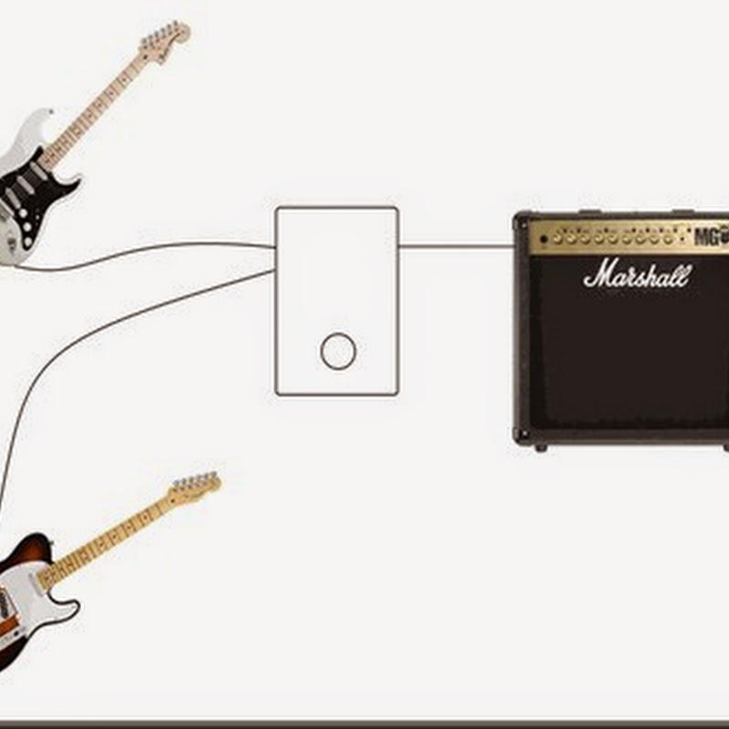 Pedales de selección - interruptor A/B