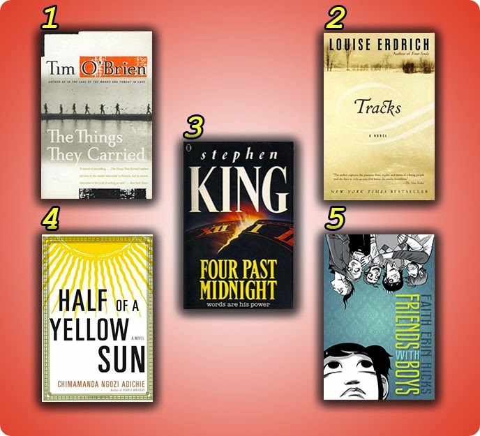 Top 10 Spring TBR - Read harder