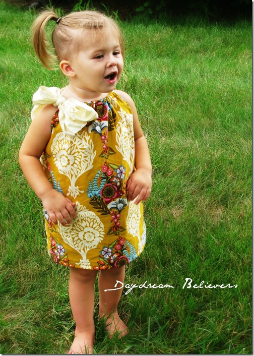 handmade toddler pillowcase dresses