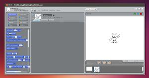 Phratch in Ubuntu Linux