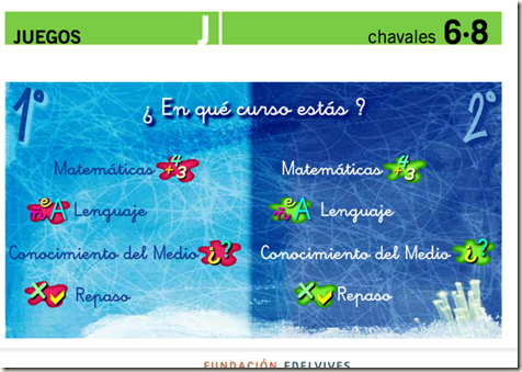 SEHACESABER.ORG   Chavales 6 8 Juegos