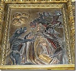 San Antón tentado por los diablos - Santuario de Codés