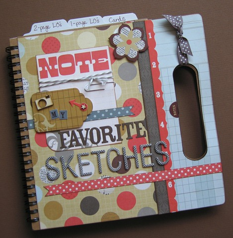 Favorite sketches_altered book_CWa5