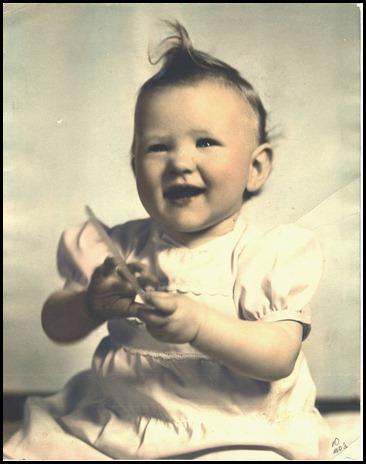 Barbara Kay age 10 months
