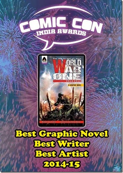 Comic Con Awards Best Writer World War 2
