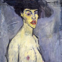 Modigliani, Nude in Hat