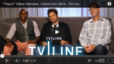 Psych Cast interview TVLine