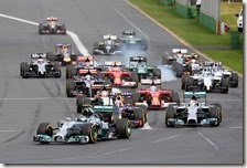 Rosberg vince il gran premio d'Australia 2014