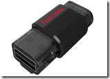Buy Sandisk Ultra Dual 16 GB On-The-Go Pendrive (Black) at Rs.465 – Lowest Price