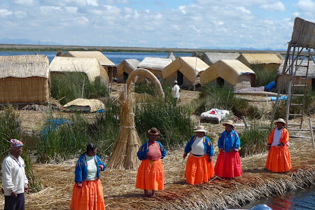 Iunia Pasca: Insula plutitoare uros