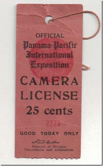 Camera License