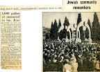 4.000 gather at memorial to 6m. Jews