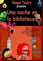 cartel una noche biblioteca - copia