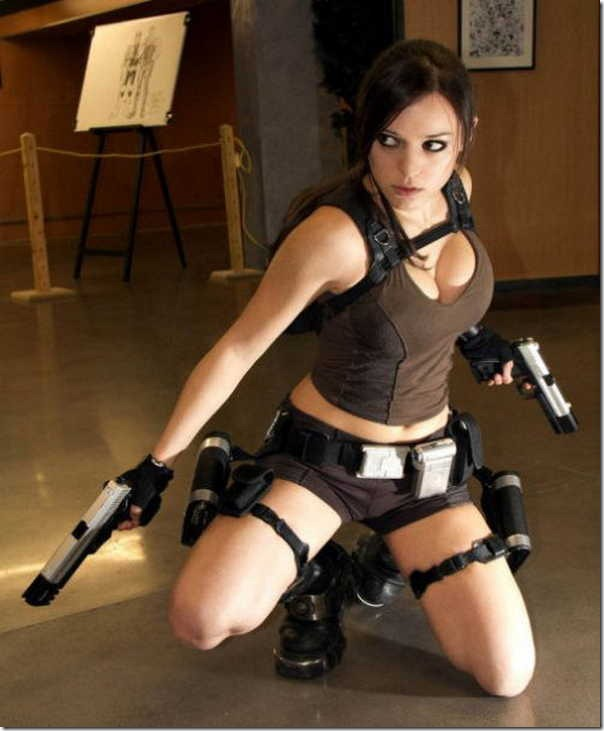 Os melhores cosplays de Lara Croft 2