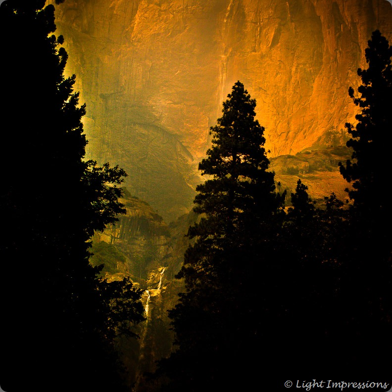 Light Impressions-Yosemite Falls