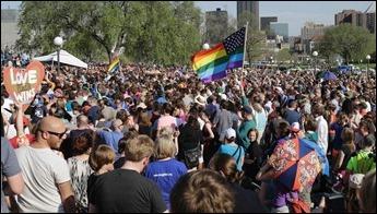 Estados Unidos manifestação