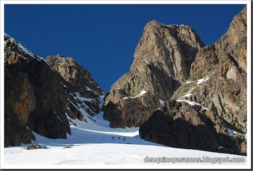 Circo Sur del Midi d'Ossau con esquis (Portalet, Pirineo Frances) (Fon) 224