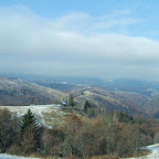 Culoarul Rucăr – Bran cu puțină zăpadă