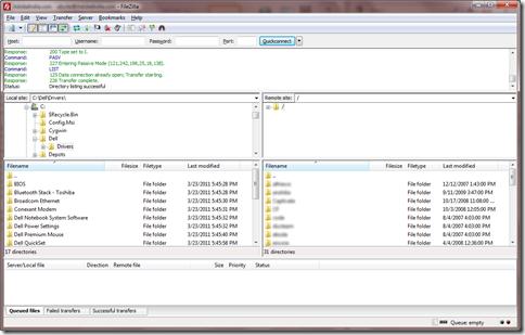 FileZillaFTPClient