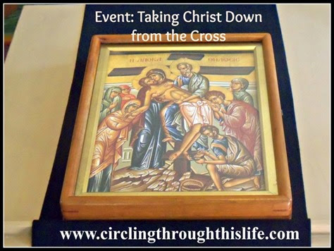 Event Icon Taking Christ Down from the Cross