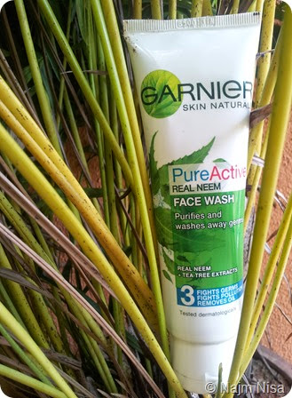 Garnier real Neem Pure Active Face wash