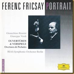 Fricsay Rossini Verdi oberturas DG